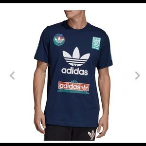 "BrandNWT Adidas Race Tee XL ""Fresh""💯"